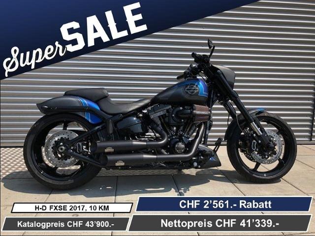 Motorrad kaufen HARLEY-DAVIDSON FXSE 1801 CVO Pro Street Breakout ABS Ref: 3656 Neufahrzeug