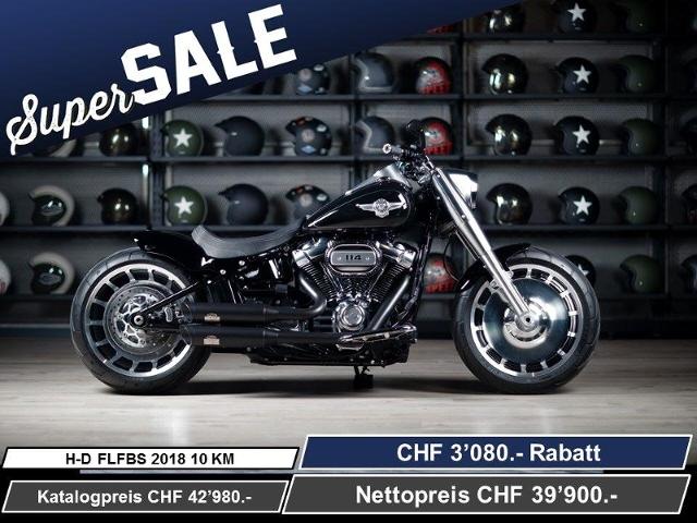 Motorrad kaufen HARLEY-DAVIDSON FLFBS 1868 Fat Boy 114 Ref: 5256 Neufahrzeug