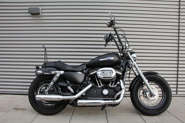 Motorrad kaufen HARLEY-DAVIDSON XL 1200 CB Sportster Custom Vers. B ABS Ref: 8489 Occasion