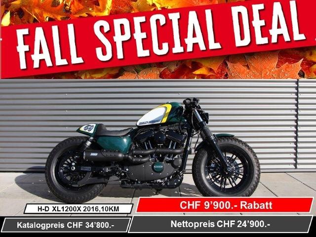 Motorrad kaufen HARLEY-DAVIDSON XL 1200 X Sportster Forty Eight ABS Ref. 5153 Neufahrzeug