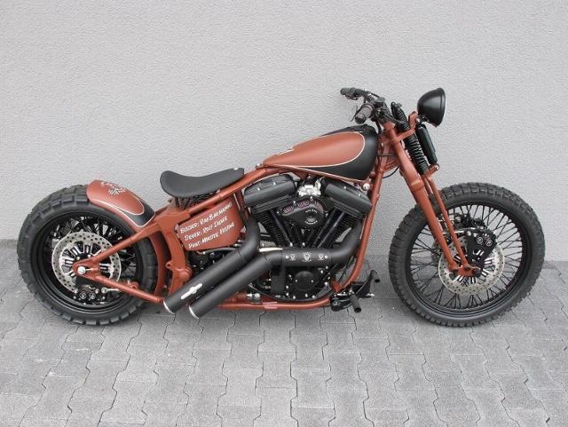 Motorrad kaufen HARLEY-DAVIDSON FXSTS 1340 Softail Springer Ref: 5101 Occasion