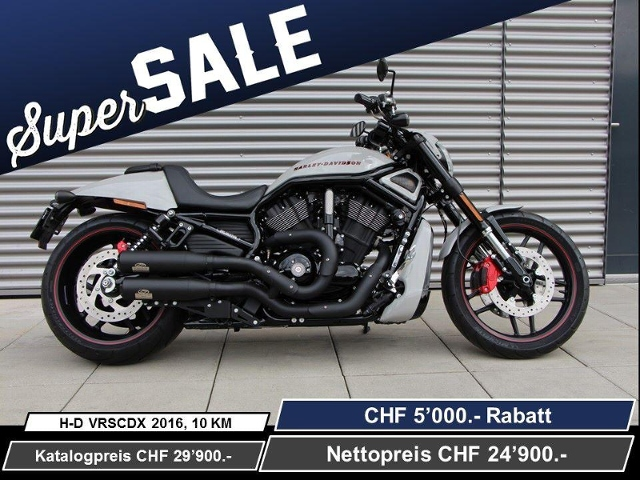 Motorrad kaufen HARLEY-DAVIDSON VRSCDX 1250 Night-Rod Special ABS Ref: 3919 Neufahrzeug