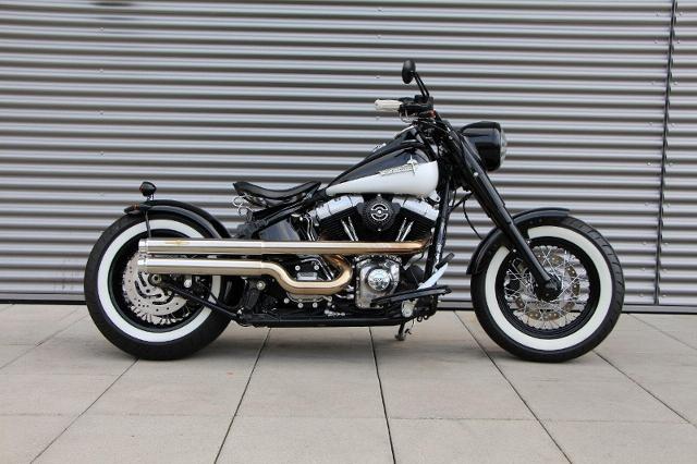 Motorrad kaufen HARLEY-DAVIDSON FLS 1690 Softail Slim ABS Ref. 5195 Occasion