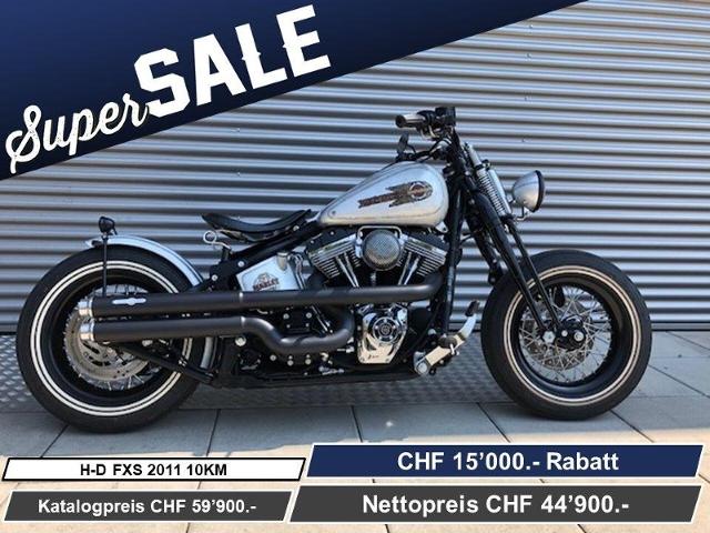 Motorrad kaufen HARLEY-DAVIDSON FXS 1585 Softail Blackline ABS Ref: 6746 Neufahrzeug