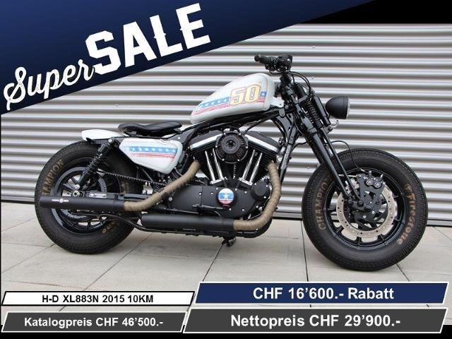 Motorrad kaufen HARLEY-DAVIDSON XL 883N Iron ABS Ref.4353 Neufahrzeug
