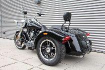 Töff kaufen HARLEY-DAVIDSON FLRT 1745 Freewheeler ABS Ref: 0356 Trike