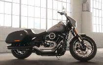 Acheter moto HARLEY-DAVIDSON FLSB 1745 Softail Sport Glide 107 Ref. 6854 Custom