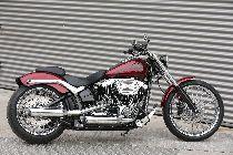 Töff kaufen HARLEY-DAVIDSON FXSB 1690 Softail Breakout ABS Ref: 5387 Custom