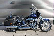 Motorrad kaufen Occasion HARLEY-DAVIDSON FLSTSE3 CVO 1801 Softail Convertible (custom)