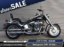 Motorrad kaufen Occasion HARLEY-DAVIDSON FLSTF 1690 Softail Fat Boy ABS (custom)