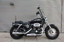Motorrad kaufen Occasion HARLEY-DAVIDSON XL 1200 CB Sportster Custom Vers. B ABS (custom)