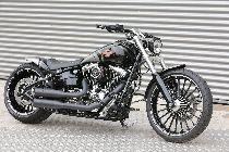 Töff kaufen HARLEY-DAVIDSON FXSB 1690 Softail Breakout ABS Ref: 7491 Custom