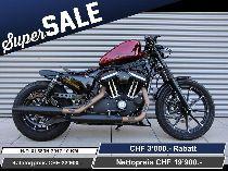 Töff kaufen HARLEY-DAVIDSON XL 883 N Iron ABS Ref: 3833 Custom