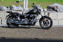 Motorrad kaufen Occasion HARLEY-DAVIDSON FXDBC 1690 Dyna Street Bob ABS Limited Edit. (custom)