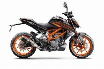 Motorrad kaufen Neufahrzeug KTM 125 Duke ABS 2021 (naked)
