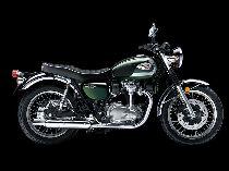 Motorrad Mieten & Roller Mieten KAWASAKI W 800 (Retro)