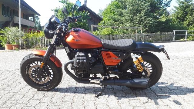 Motorrad kaufen MOTO GUZZI V9 Bobber Sport Vorführmodell