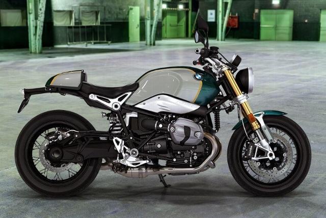 Motorrad kaufen BMW R nine T ABS Opt. 719 Pollux metallic/Aluminium Neufahrzeug