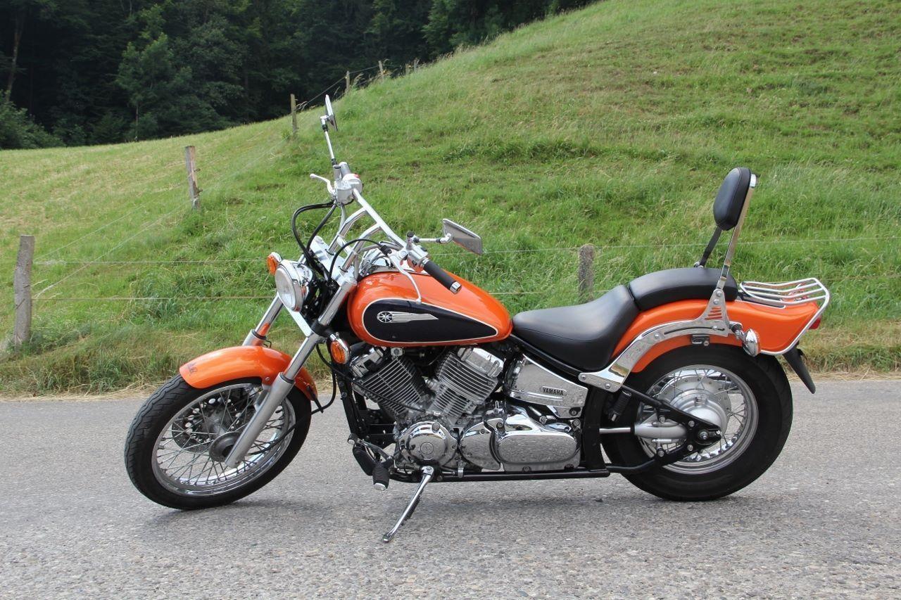 motorrad occasion kaufen yamaha xvs 650 drag star moto. Black Bedroom Furniture Sets. Home Design Ideas