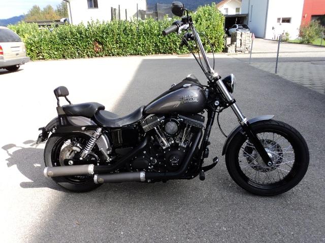 Motorrad kaufen HARLEY-DAVIDSON FXDB 1690 Dyna Street Bob ABS Occasion