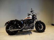 Motorrad kaufen Occasion HARLEY-DAVIDSON XL 1200 XS Sportster Forty Eight Special (custom)