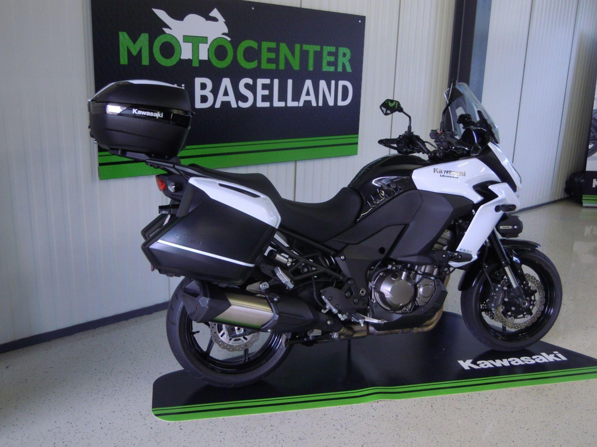 motorrad occasion kaufen kawasaki versys 1000 abs motocenter baselland f llinsdorf. Black Bedroom Furniture Sets. Home Design Ideas