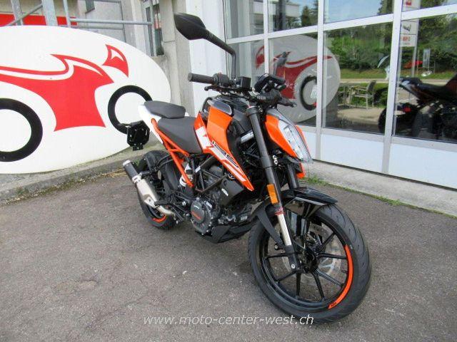 Motorrad kaufen KTM 125 Duke Neufahrzeug