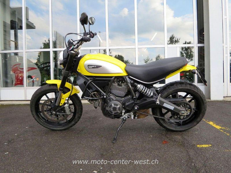 motorrad occasion kaufen ducati 803 scrambler moto center west ag st gallen. Black Bedroom Furniture Sets. Home Design Ideas