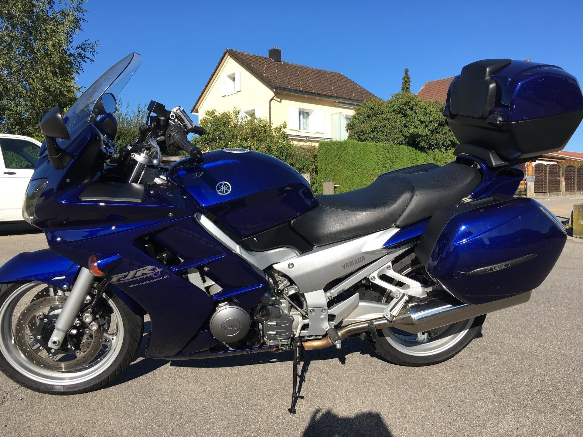 motorrad occasion kaufen yamaha fjr 1300 abs merz mototeam riedt bei erlen. Black Bedroom Furniture Sets. Home Design Ideas