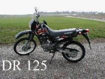 Motorrad Mieten & Roller Mieten SUZUKI DR 125 SE (Enduro)