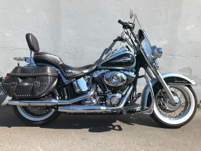 Motorrad kaufen HARLEY-DAVIDSON FLSTC 1584  Softail Heritage Classic Anniv. Occasion