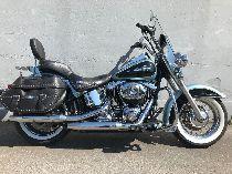 Motorrad kaufen Occasion HARLEY-DAVIDSON FLSTC 1584  Softail Heritage Classic Anniv. (custom)