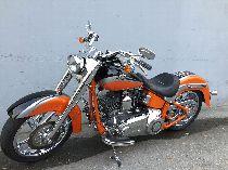 Motorrad kaufen Occasion HARLEY-DAVIDSON FLSTSE CVO 1801 Softail Convertible (custom)