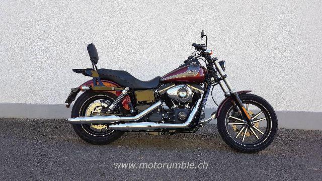 Motorrad kaufen HARLEY-DAVIDSON FXDBB 1690 Dyna Street Bob Limited Edit. Occasion