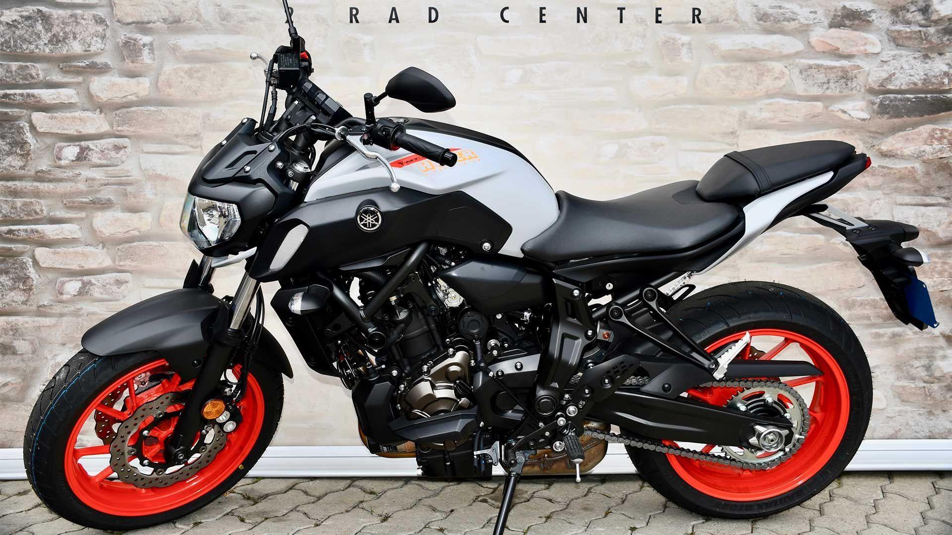 Motorrad Mieten & Roller Mieten YAMAHA MT 07 A