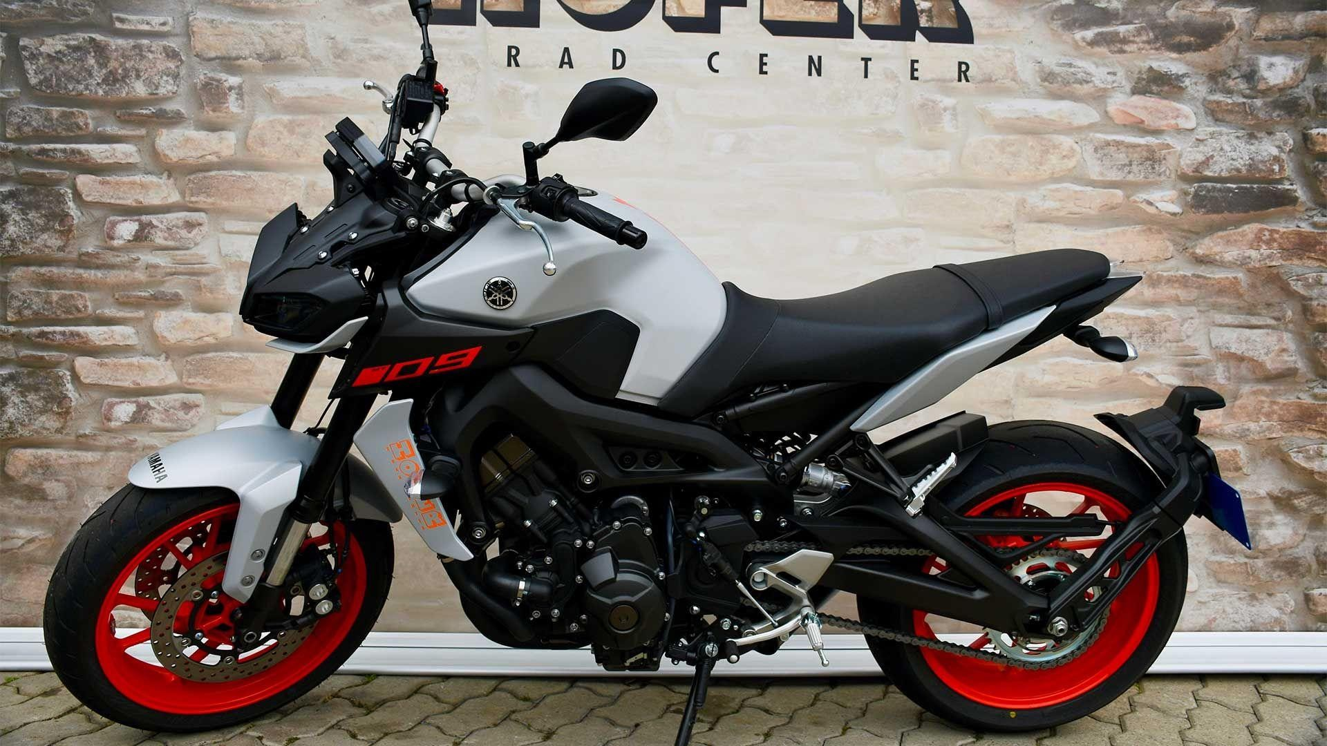 Motorrad Mieten & Roller Mieten YAMAHA MT 09 A ABS