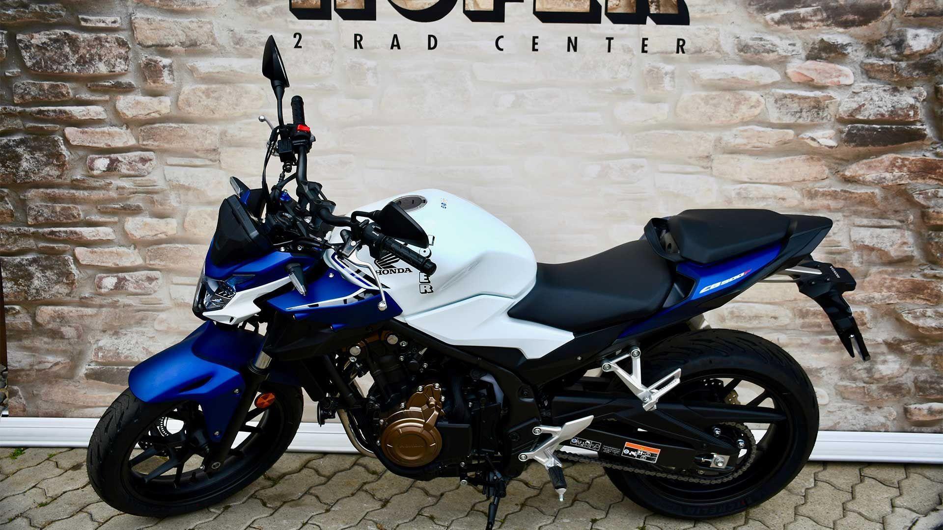 Motorrad Mieten & Roller Mieten HONDA CB 500 FA