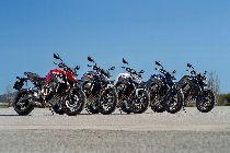 Motorrad Mieten & Roller Mieten HONDA CB 650 FA (Naked)