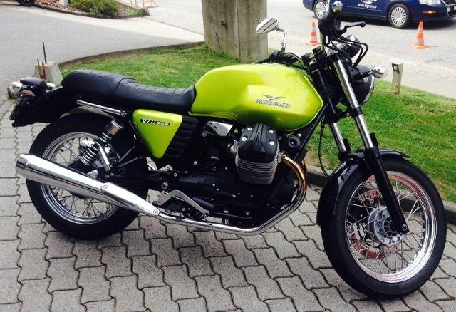 Motorrad kaufen MOTO GUZZI V7 Special ABS Verde Legnano Neufahrzeug