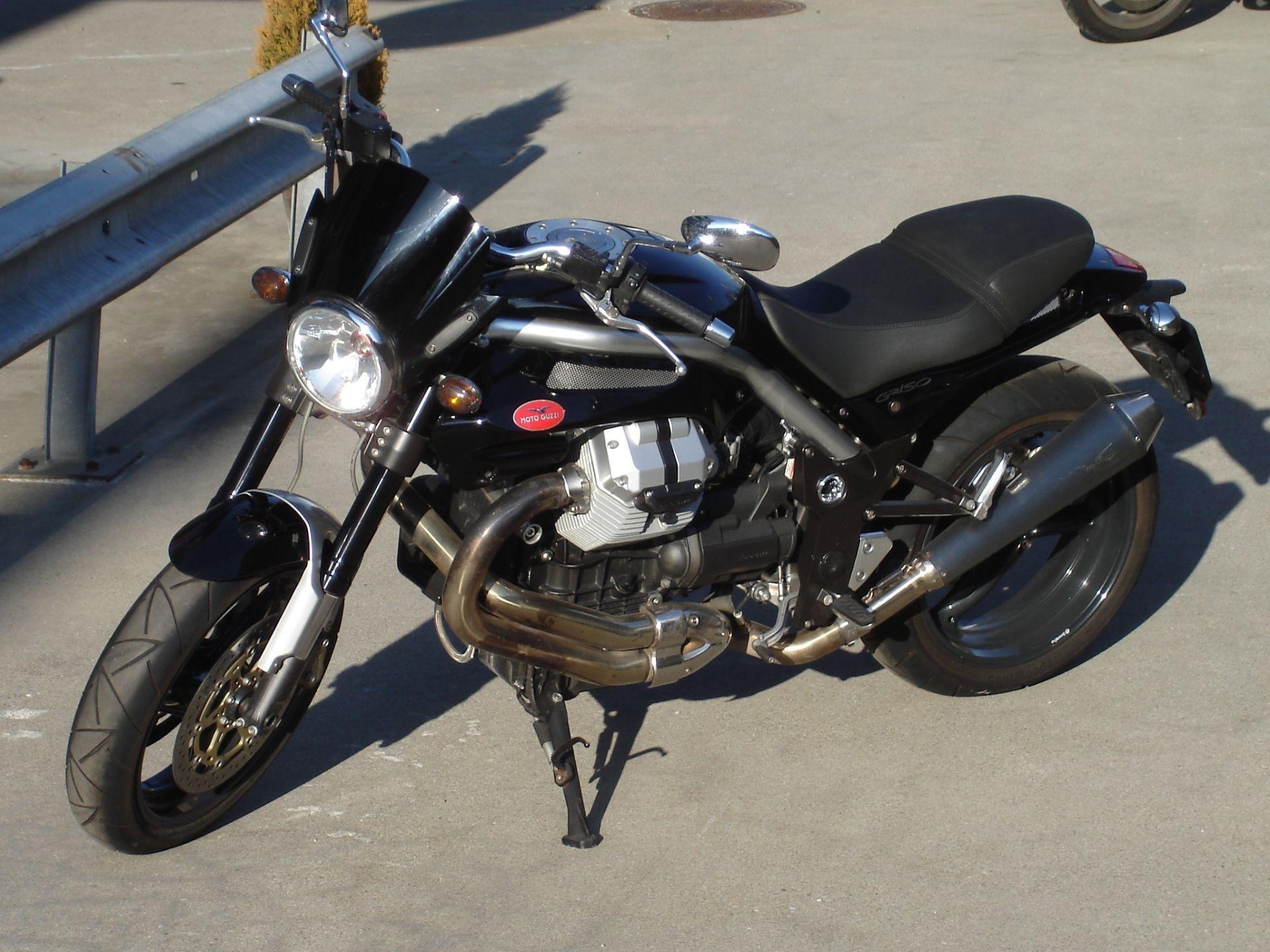 motorrad occasion kaufen moto guzzi griso 1100 i e la. Black Bedroom Furniture Sets. Home Design Ideas