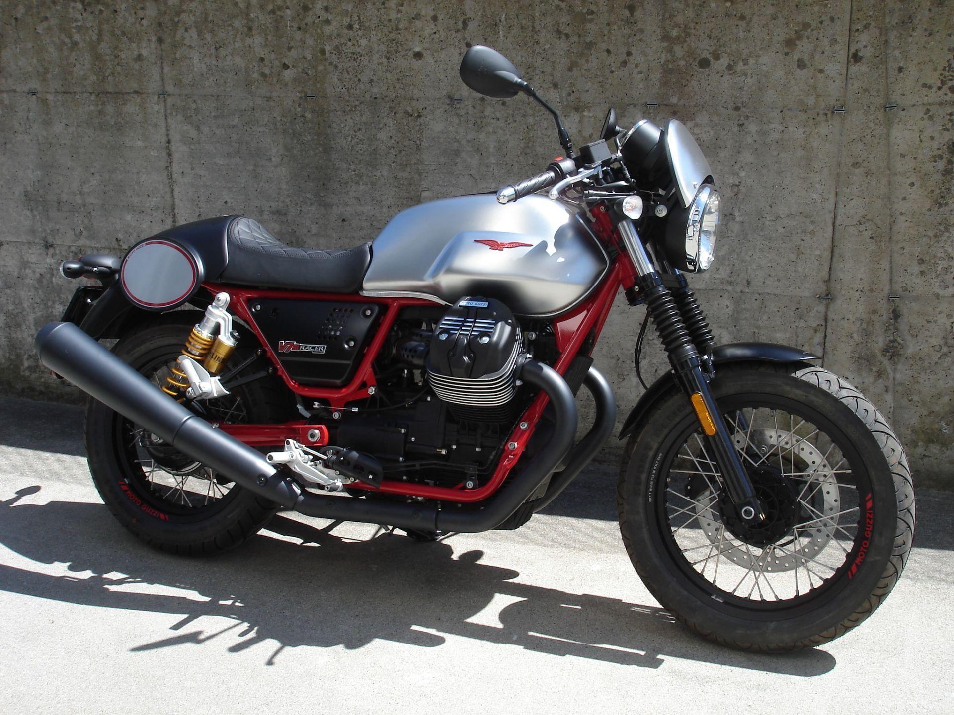 motorrad neufahrzeug kaufen moto guzzi v7 iii racer la. Black Bedroom Furniture Sets. Home Design Ideas