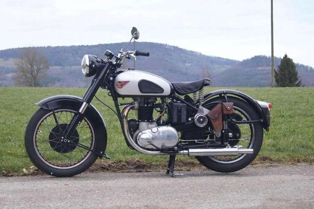 Motorrad kaufen BSA A10 650 Golden Flash Oldtimer