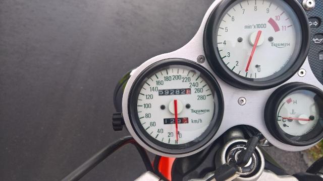 Motorrad kaufen TRIUMPH Speed Triple 900 T509 Occasion
