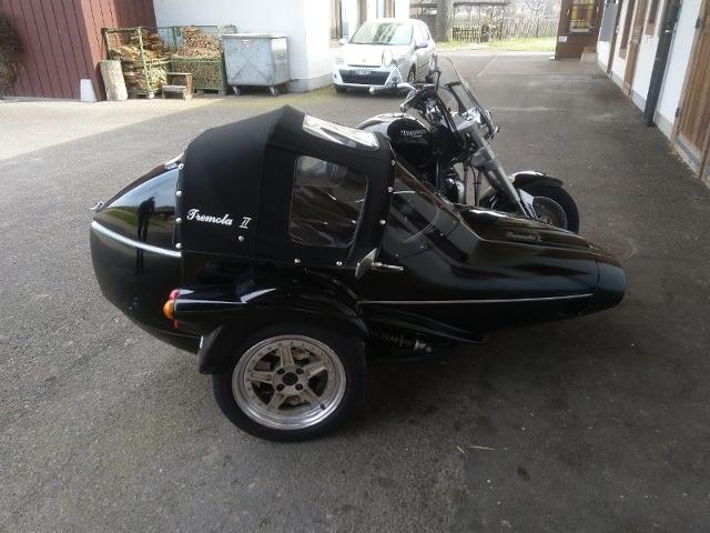 Motorrad kaufen TRIUMPH Rocket III 2300 Armec Tremola II Gespann Occasion