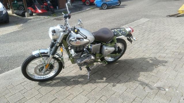 Motorrad kaufen ROYAL-ENFIELD Bullet 500 EFI Trial Neufahrzeug