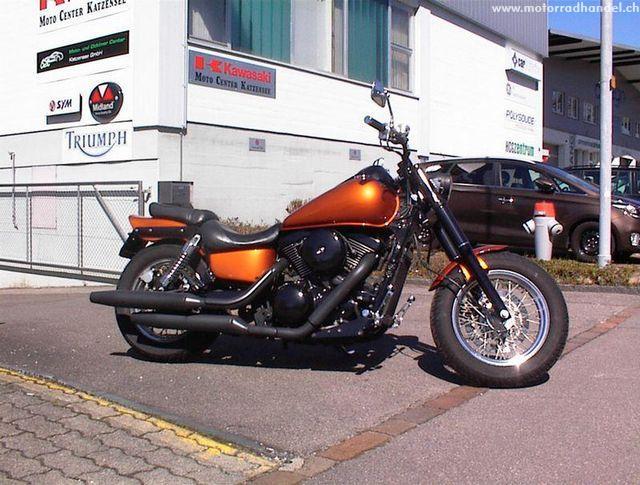 Motorrad kaufen KAWASAKI VN 1500 Classic Chopper Occasion