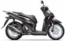 Motorrad Mieten & Roller Mieten HONDA SH 125 AD (Roller)