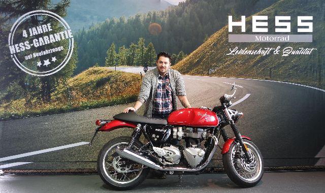 Motorrad kaufen TRIUMPH Thruxton 1200 R ABS Neufahrzeug