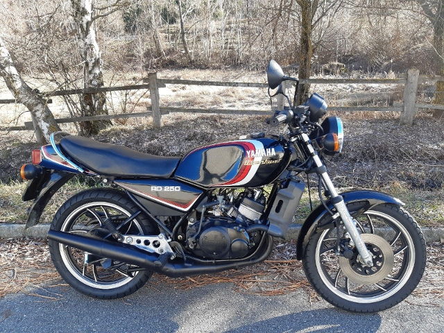 Motorrad kaufen YAMAHA RD 250 LC Oldtimer