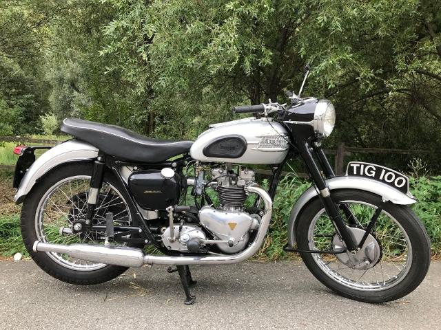 Motorrad kaufen TRIUMPH T 100 Tiger Oldtimer